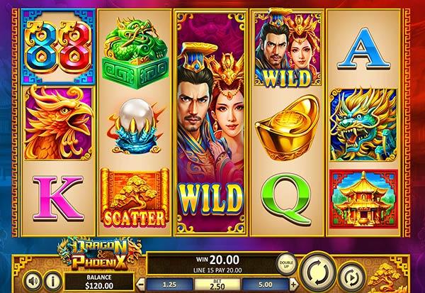 Dragon & Phoenix 777 Slots Bay game