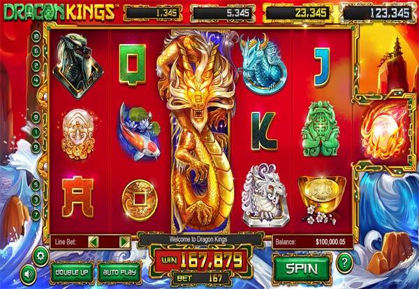Dragon Kings 777 Slots Bay game