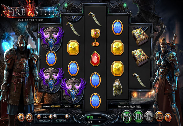 Fire And Steel 777 Slots Bay game