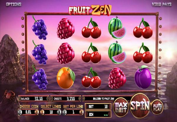 Fruit Zen 777 Slots Bay game