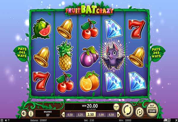 FruitBat Crazy 777 Slots Bay game