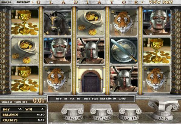 Gladiator 777 Slots Bay game