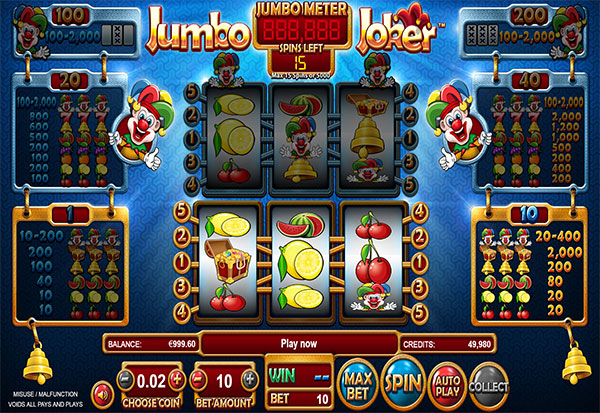 Jumbo Joker 777 Slots Bay game