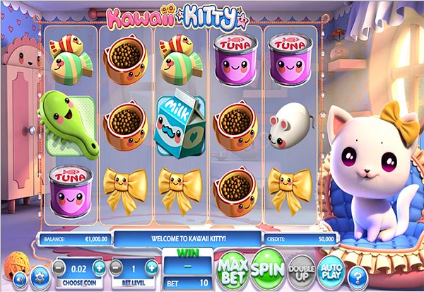 Kawaii Kitty 777 Slots Bay game
