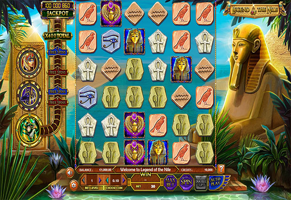Legend Of The Nile 777 Slots Bay game