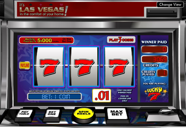 Lucky Seven 777 Slots Bay game
