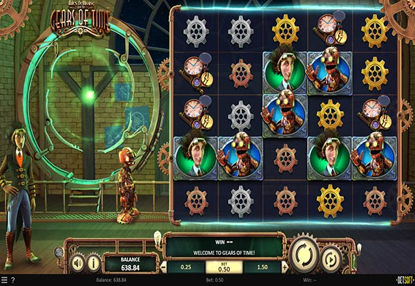 Miles Bellhouse and the Gears of Time 777 Slots Bay game