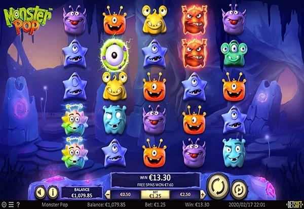 Monster Pop 777 Slots Bay game