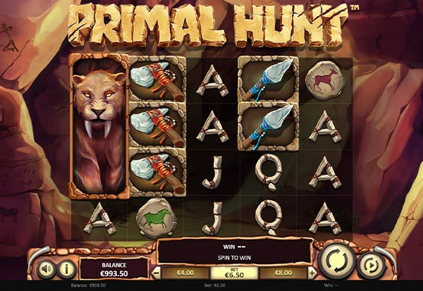 Primal Hunt 777 Slots Bay game
