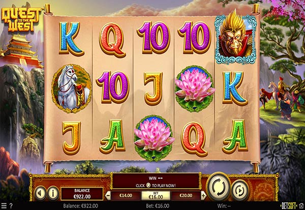 Quest to the West 777 Slots Bay game