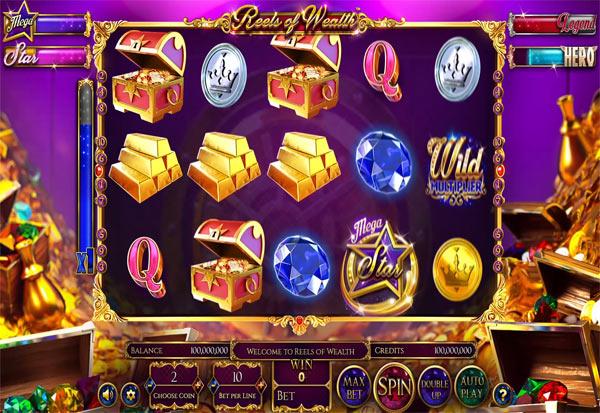 Reels Of Wealth 777 Slots Bay game
