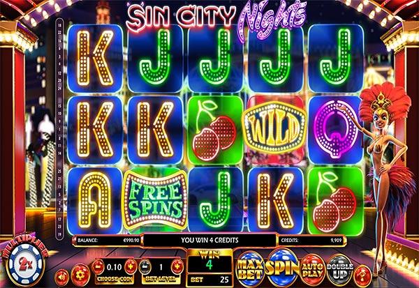 Sin City Nights 777 Slots Bay game
