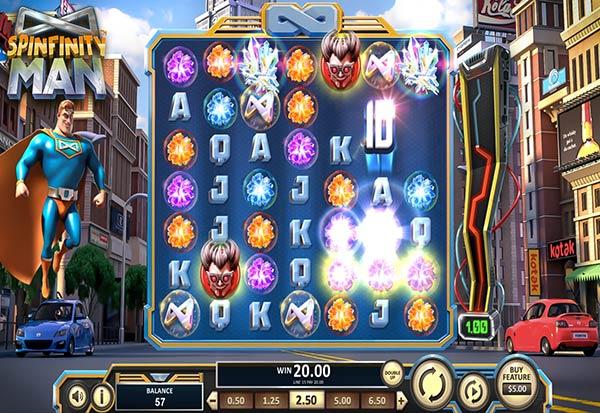 Spinfinity Man 777 Slots Bay game