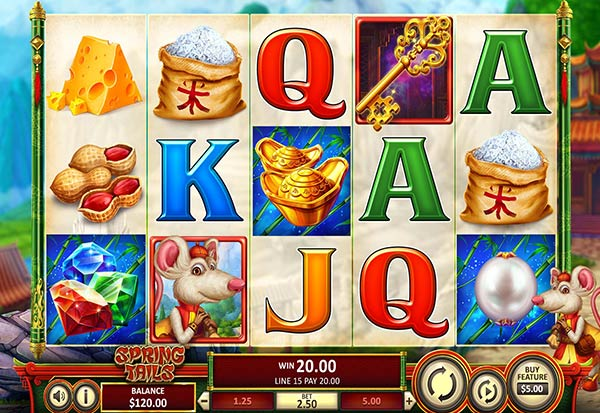 Spring Tails 777 Slots Bay game