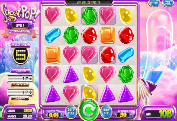 SugarPop 777 Slots Bay game