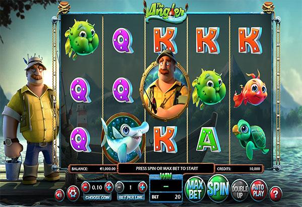 The Angler 777 Slots Bay game