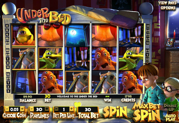 Under the Bed 777 Slots Bay game