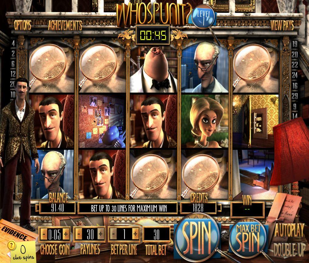 WhoSpunIt Plus 777 Slots Bay game