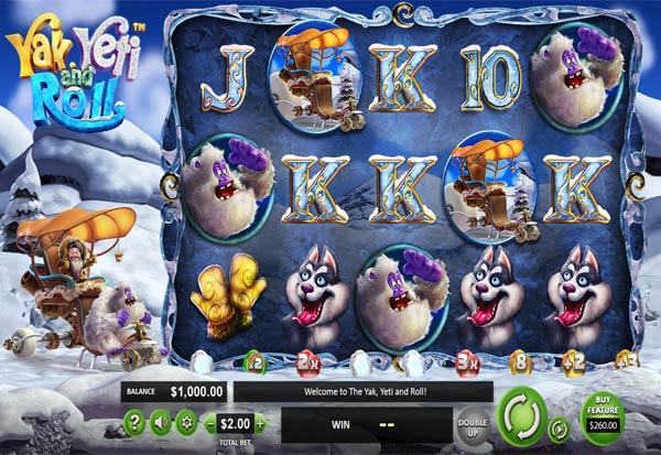 Yak, Yeti And Roll 777 Slots Bay game