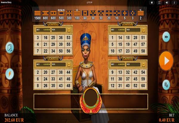 Amarna Glory 777 Slots Bay game