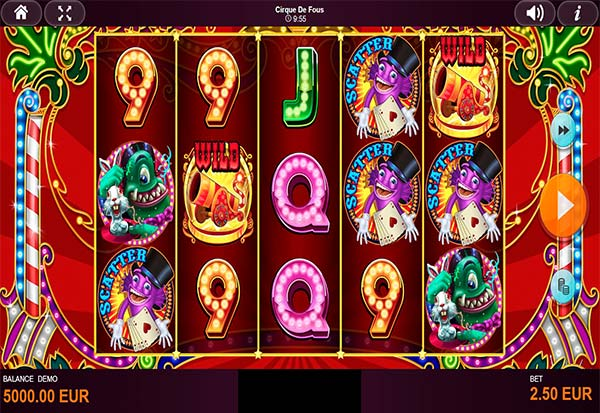 Cirque De Fous 777 Slots Bay game