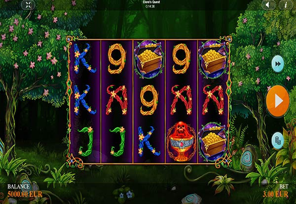 Elora's Quest 777 Slots Bay game
