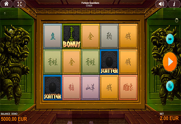 Fortune Guardians 777 Slots Bay game