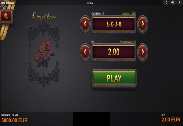 King Of Roses 777 Slots Bay game
