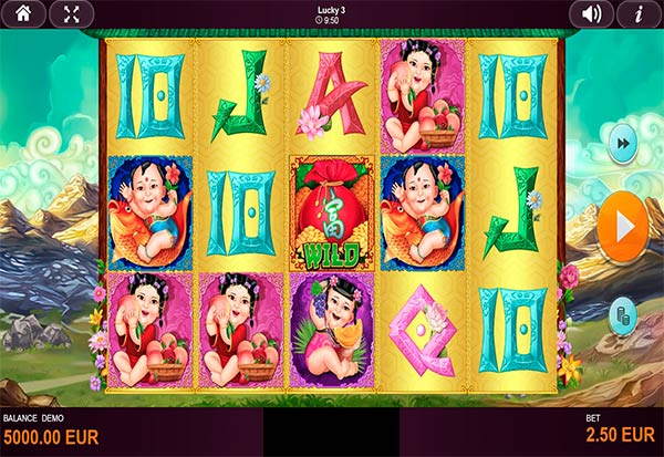 Lucky 3 777 Slots Bay game