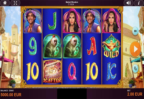 Market Wonders 777 Slots Bay game