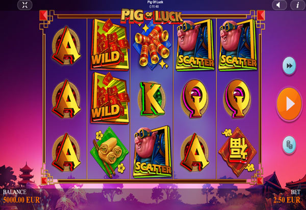 Pig of Luck 777 Slots Bay game