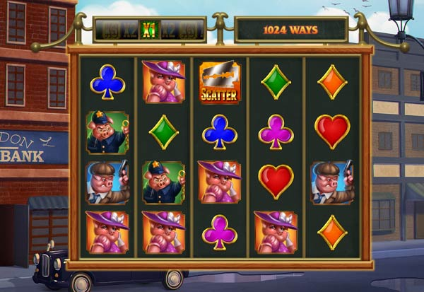 Piggy Gangsters 777 Slots Bay game
