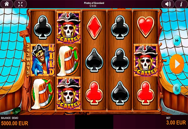 Pirates of Graveland 777 Slots Bay game