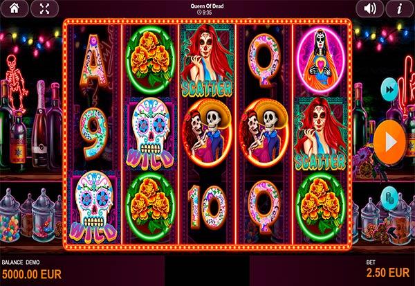 Queen Of Dead 777 Slots Bay game