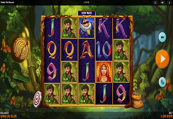 Robin The Decent 777 Slots Bay game