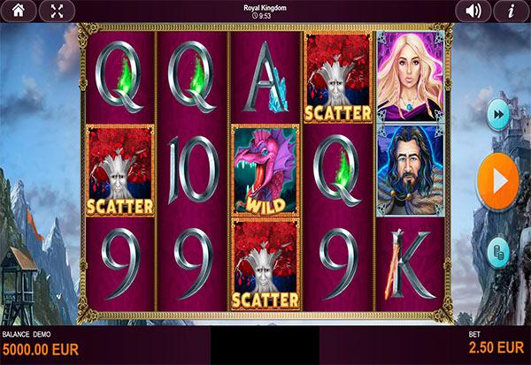 Royal Kingdom 777 Slots Bay game