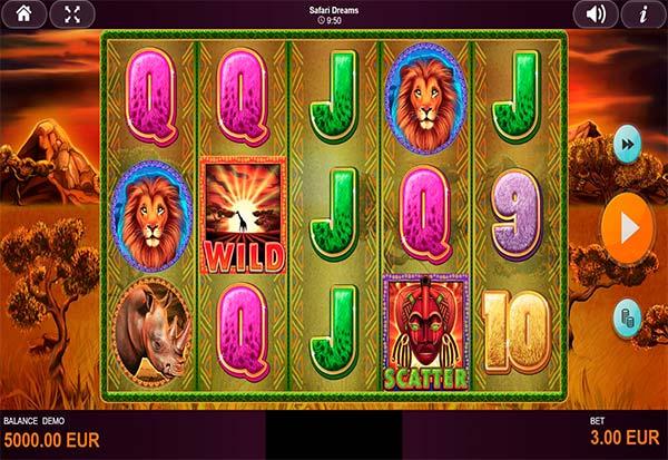 Safari Dreams 777 Slots Bay game