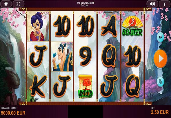 The Sakura Legend 777 Slots Bay game