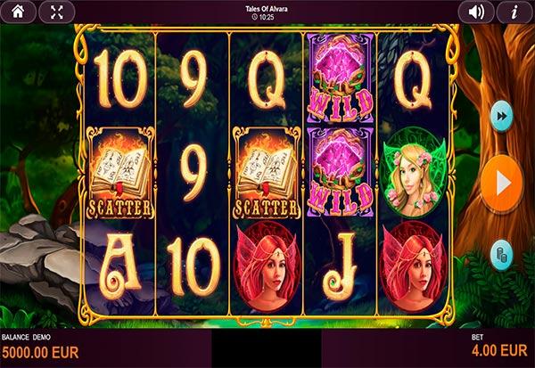 Tales of Alvara 777 Slots Bay game