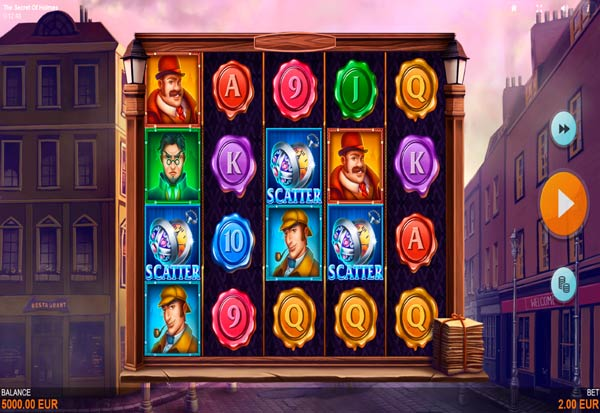 The Secret of Holmes 777 Slots Bay game
