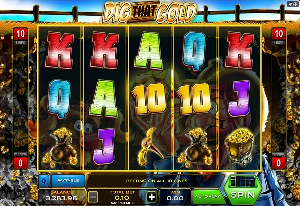 Dig That Gold 777 Slots Bay game