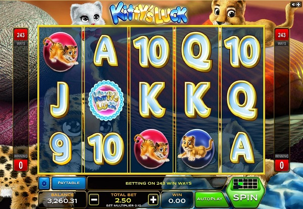 Kitty's Luck 777 Slots Bay game