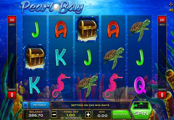 Pearl Bay 777 Slots Bay game