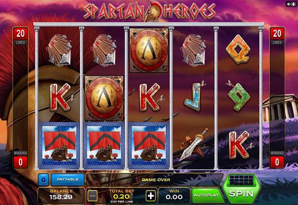 Spartan Heroes 777 Slots Bay game