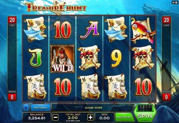 Treasure Hunt 777 Slots Bay game