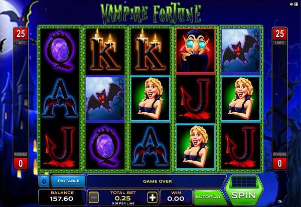 Vampire Fortune 777 Slots Bay game