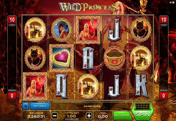 Wild Princess 777 Slots Bay game