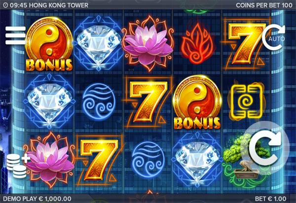 Hong Kong Tower 777 Slots Bay game