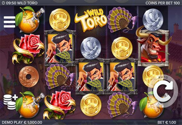 Wild Toro 777 Slots Bay game
