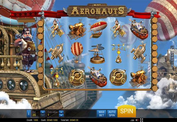 Aeronauts 777 Slots Bay game